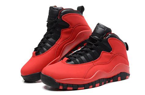 Air Jordan Retro 10 Red and Black