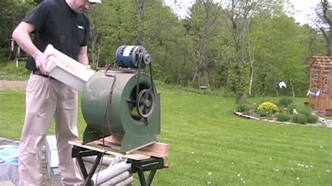 furnace fan not working playing with sawdust in a furnace fan youtube