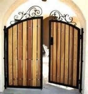 wood and iron gates designs wood pet gates indoor foter