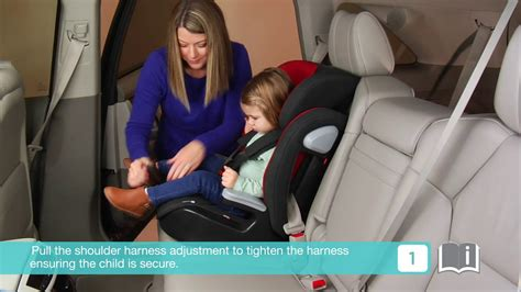 Joie Elevate Group 1-2-3 Car Seat In Black Install