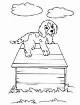 Coloring Dog Printable sketch template