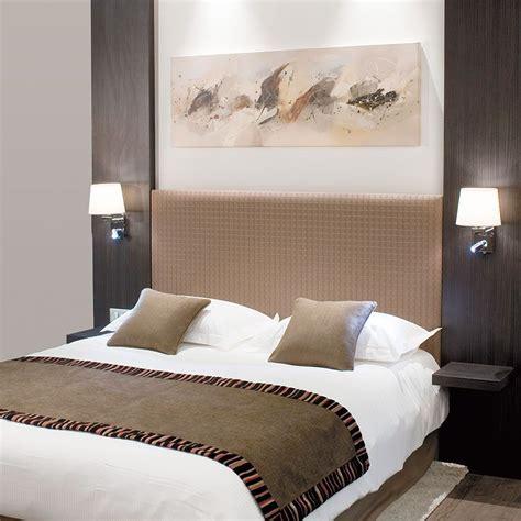chevet chambre tete de lit avec table de chevet integre kirafes