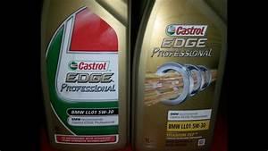 Castrol Edge Professional 5w 30 : castrol edge bmw ll01 5w 30 youtube ~ Jslefanu.com Haus und Dekorationen
