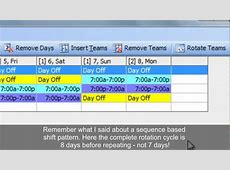 Work Schedules Improved 4 on 4 off 12 Hour Shift Patterns