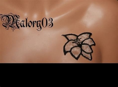 Tatouage Fleur Iles  Modèles Et Exemples