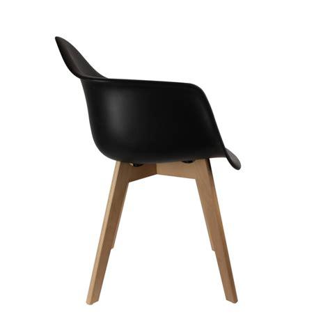 fauteuil scandinave noir ac deco