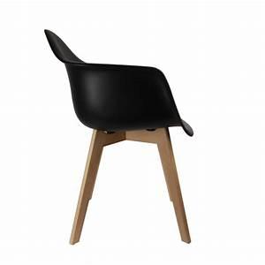 Fauteuil Chaise Scandinave : fauteuil scandinave noir ac deco ~ Melissatoandfro.com Idées de Décoration