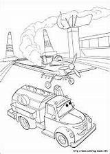 Coloring Fire Planes Rescue Ice sketch template