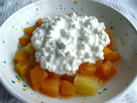 fruit and cottage cheese cottage cheese and fruit delight recipe genius kitchen