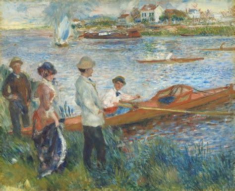 Pierre Auguste Renoir Oarsmen At Chatou 1879 Artsy