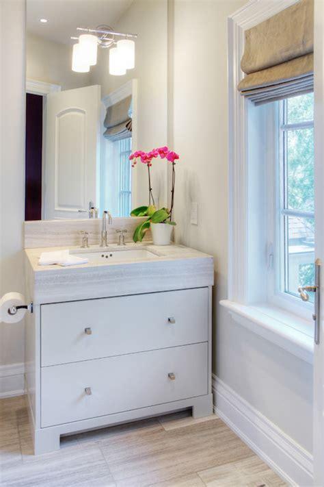 Gray Painted Vanity  Transitional  Bathroom Benjamin