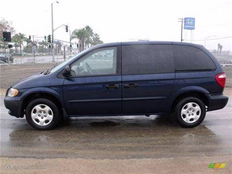2002 Dodge Caravan Se patriot blue pearl 2002 dodge caravan se exterior photo