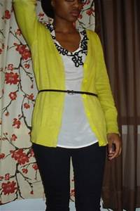 Neon Yellow Cardigan How to Wear and Where to Buy