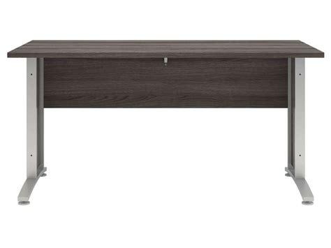 bureau gris anthracite bureau 150 cm prima coloris chêne gris vente de bureau