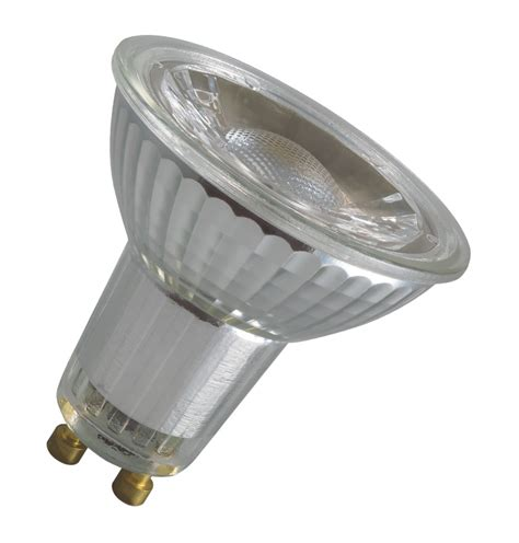 crompton 6w gu10 dimmable glass led light bulbs direct