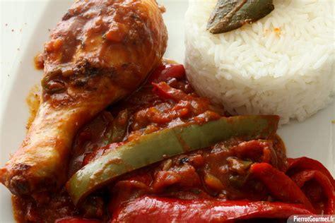 cuisine et vin recette poulet basquaise pierrotgourmet fr
