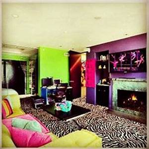 1000 images about Neon bedroom ideas on Pinterest