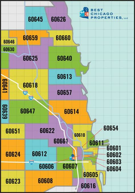 Chicago Zip Code Guide - Chicago Real Estate For Sale By ...