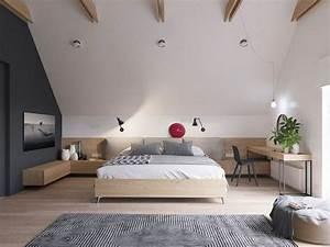 Erste Eigene Wohnung Was Braucht Man : die besten 25 schlafzimmer dachschr ge ideen auf pinterest kleiderschr nke dachschr ge ~ Markanthonyermac.com Haus und Dekorationen