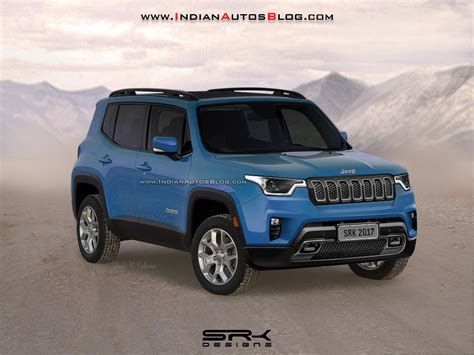jeep renegade 2018 india bound 2018 jeep renegade facelift rendered