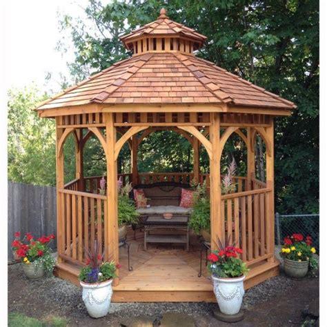 garden wooden gazebo wooden gazebo patio backyard outdoor pavilion garden