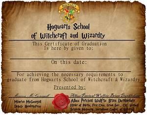 Hogwarts graduation certificate captainjackharknessdeviantartcom on deviantart life for Hogwarts diploma template