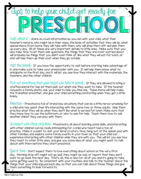 tips for parents with children starting preschool the 787   0ccee75552414aba77e9b34e2defaaea