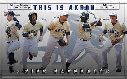 Baseball Akron Zips University Devan Darius Matt