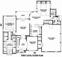 dream house plans French Dream 8149 - 4 Bedrooms and 3 Baths | The House ...