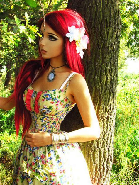 anime barbie move irl character town fairy there makeup she herself doll trainwreck makes dolls looks woman cartoon person living