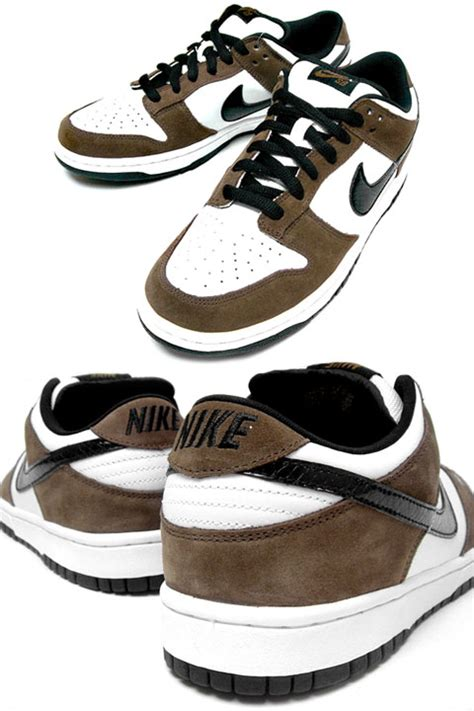 Nike Dunk Low Pro SB - White - Black - Trail End Brown