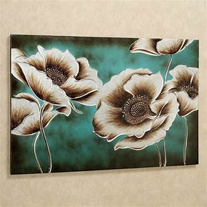 amazing 40 teal canvas wall art decorating design of best With teal wall decor