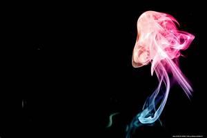 Rainbow, Smoke, Art, 4