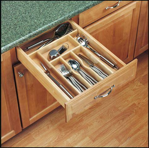 kitchen cutlery drawer organizers 14 ways to organize the kitchen silverware drawer core77 4371