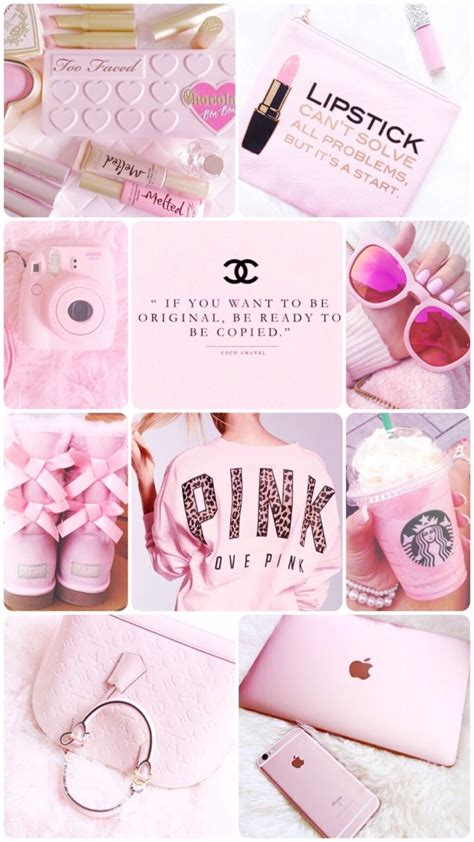 30 ide girly wallpaper iphone vintage pink aesthetic