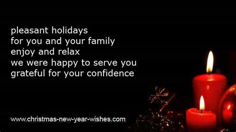 business christmas   year wishes cards clients