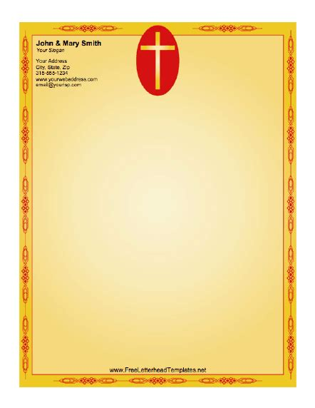 The church letterhead is indeed the identity of the church which contains all the mandatory information regarding this christian's holy place. Pin on Projects to Try