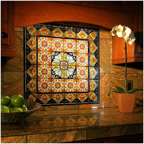 talavera tile kitchen talavera mexican ceramic border tiles floor 2653