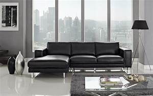 anika leather sectional left facing chaise With modern sectional sofa store