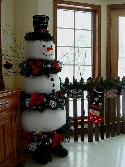 Snowman Decorations Christmas Diy Interior