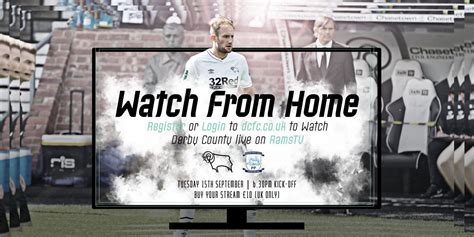 Watch From Home: Derby County Vs Preston North End ...
