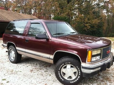 electronic stability control 1993 gmc 1500 club coupe electronic valve timing rare 2 door 1993 yukon great shape new trans 4wd 4x4 chevy tahoe k5 blazer classic gmc