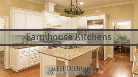 sweet country kitchen farmhouse kitchens sweet country style 2633