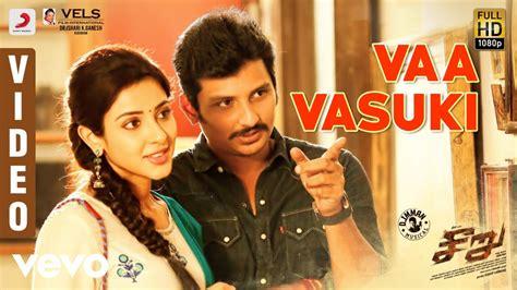 vaa vasuki song lyrics  english tamil songs jiiva