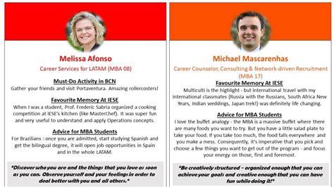 Meet the IESE CDC Team!  IESE MBA Blog