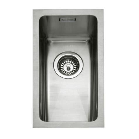 inset stainless steel kitchen sinks caple mode 25 stainless steel inset or undermount sink 7530