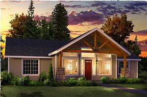 Modular Home With Front Porch