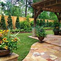 landscaping ideas for backyards Backyard