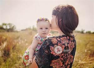 Sesión de fotos bebé y mamá