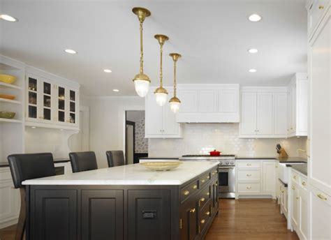 brass pendant light kitchen design ideas